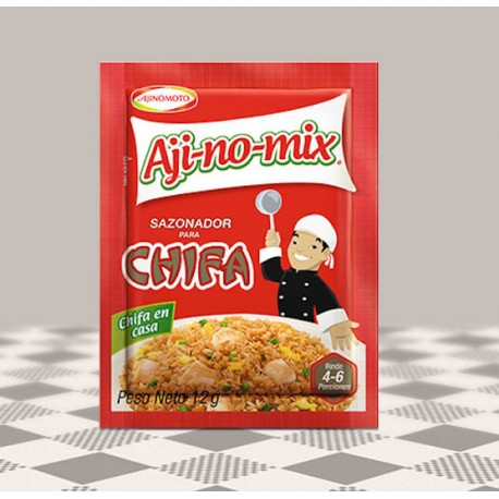 Assaisonnement Chifa Aji-no-mix AjiNoMoto 4x12g