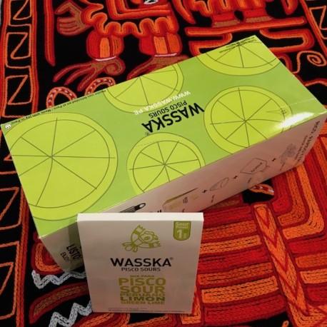 Mix Pisco Sour Wasska 125g pour 6 verres - 9 kits