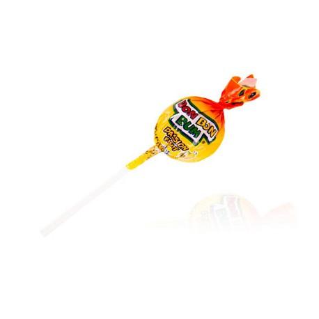 Sucette Bon Bon Bum ronde au coeur de chewing gum (Fruit de la Passion) Colombina / Colombie