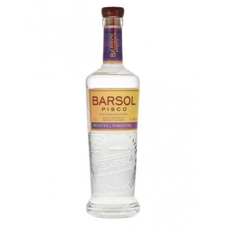 Pisco Selecto Torontel Barsol 41,3° 70cl