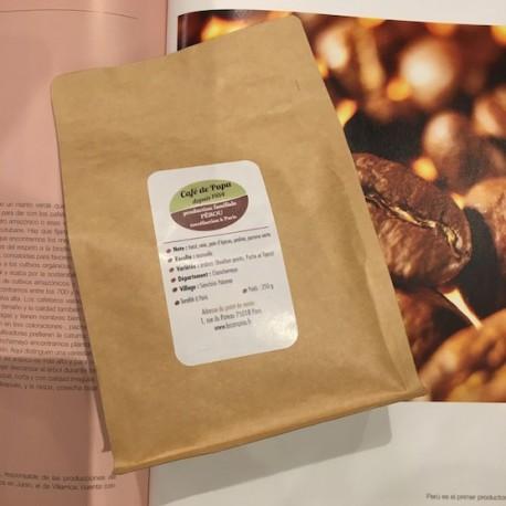 Café peruano puro Arabica molido Gourmet La Campiña 250g