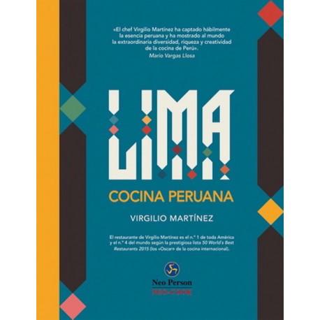 Lima Cocina Peruana Livre de recettes de Cuisine péruvienne - Virgilio Martinez Ed. Neo Person