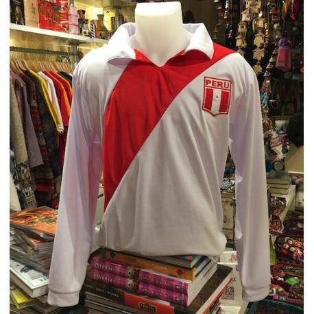 Camiseta de Futbol Peruano (manga larga) Selección 1970