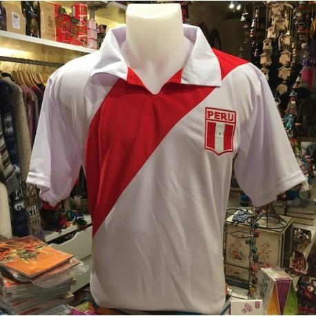 Camiseta de Futbol Peruano (mangas cortas) Selección 1970