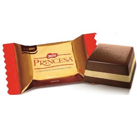 Princesa - Barre de chocolat fourrée à la crème de cacahuètes Nestlé 8g