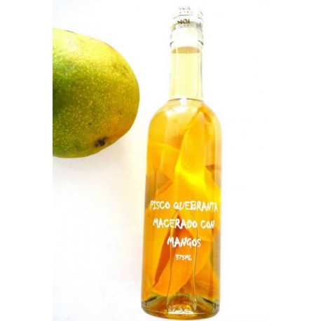 Pisco Quebranta macerado con Mango Noa 375ml