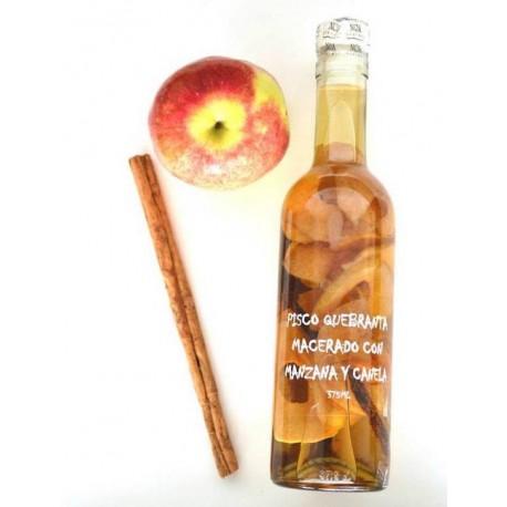 Pisco Quebranta macerado con Manzana y Canela Noa 375ml