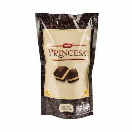 Princesa Chocolate Candy with Peanut Butter Nestlé 18x8g