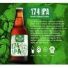 174 IPA Cerveza Rubia artesanal Barbarian 8° 345ml