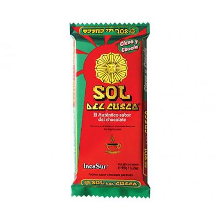 Chocolat chaud à la tasse à la Cannelle & au Clou de Girofle Sol del Cusco IncaSur 90g