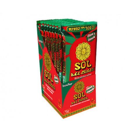 Chocolat chaud à la tasse à la Cannelle & au Clou de Girofle Sol del Cusco IncaSur 12x90g