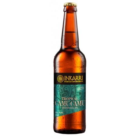 Cerveza Rubia artesanal al Camu-Camu Inkarri 6,4° 33cl
