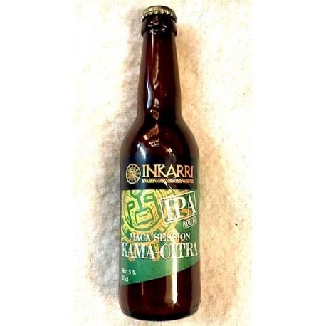 Maca Session Kama-Citra Bière artisanale IPA Blonde à la Maca Inkarri 5° 33cl