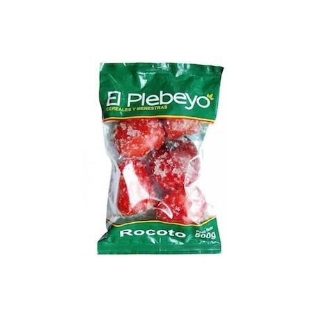 Rocoto Congelado El Plebeyo 500g - 12 bolsas