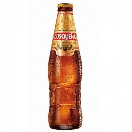 Bière Blonde péruvienne Cusqueña 4,8° 33cl - Carton de 24