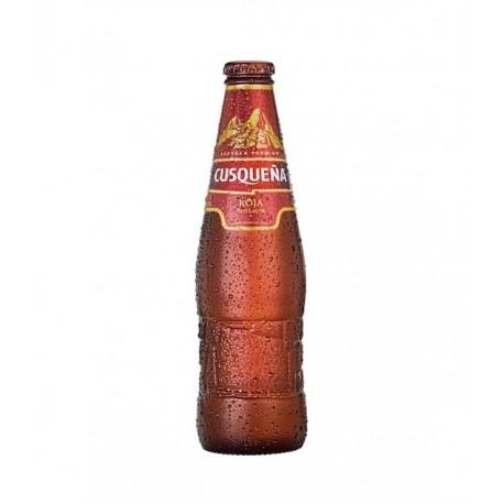 Cerveza Red Lager Cusqueña 5° 33cl - Caja de 24