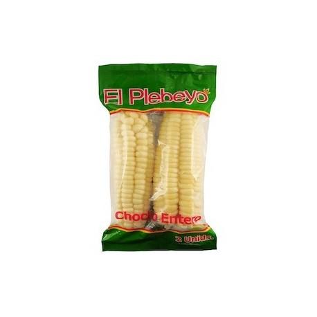 Choclo entero Congelado El Plebeyo 2 piezas - 12 bolsas