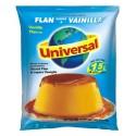 Flan aromatisé à la Vanille Universal 250g - Sac de 24