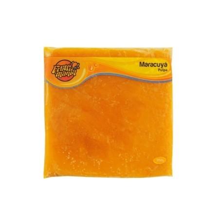 Pulpa de Maracuyá Congelada Fruttimania 250g - 12 Sobres