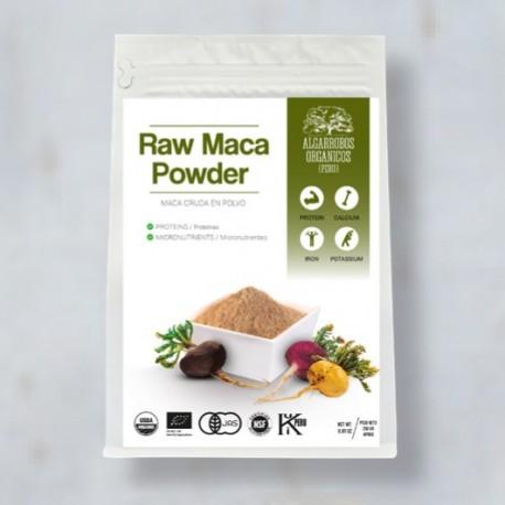 Maca Crue Bio en Poudre 100% pure Algarrobos Orgánicos 250g