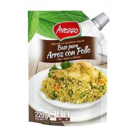 Assaisonnement Arroz con Pollo liquide Arezzo 220g