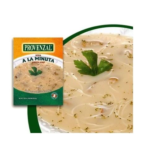 Soupe à la Minute - Ingrédients de base déshydratés Provenzal / Soupe péruvienne / Cuisine du Pérou