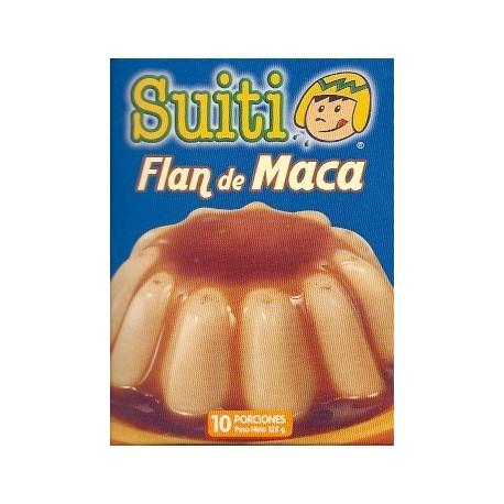 Maca Flan aromatisé à la Maca Suiti 128g