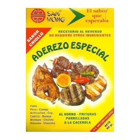 Assaisonnement Especial pour Grillades et brochettes (Anticuchos) à la péruvienne Sam Wong / Cuisine du Pérou