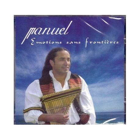 CD Emotions sans Frontières - Manuel Ruiz / Pérou