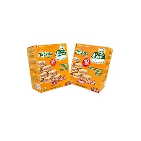 Alfajores à la Maïzena - Biscuits péruviens fourrés à la Confiture de lait La Casa del Alfajor / Pâtisserie du Pérou