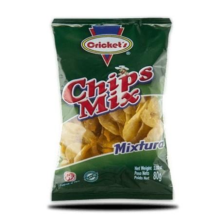Mix de Chips salés de Banane plantain de Piura et de Patate douce (Chifles Piuranos / Camote) Cricket's / Snack péruvien / Pérou