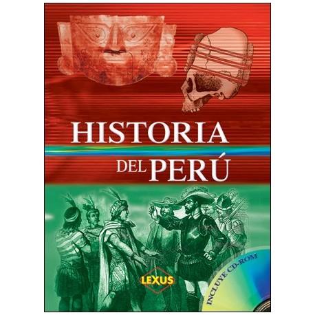 Livre d'histoire du Pérou Historia del Perú Ed. Lexus / Pérou