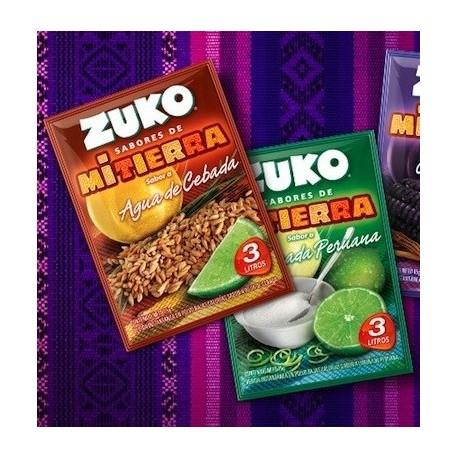 Agua de Cebada - Préparation instantanée en poudre pour Boisson rafraîchissante aromatisée à l'Orge Zuko / Pérou