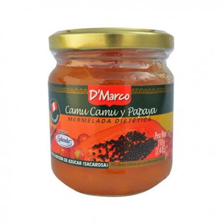 Confiture de Camu Camu (Myrciaria dubia) et Papaye D'Marco / Fruit du Pérou