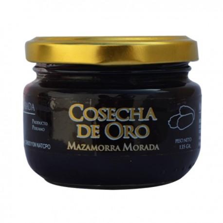 Mazamorra Morada - Dessert péruvien à base de Maïs violet Cosecha de Oro / Pérou