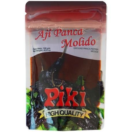 Piment Panca péruvien frais en Purée (Ají Panca / Colorado molido) Piki / Gastronomie du Pérou
