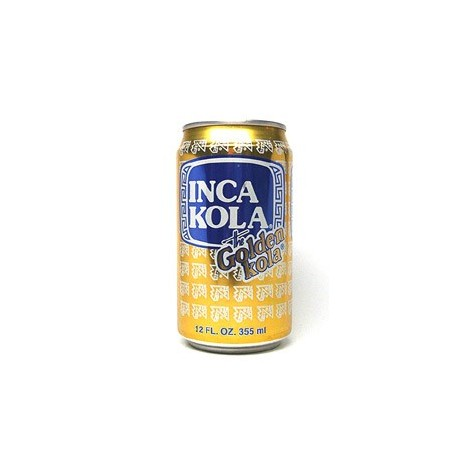 Inca Kola Can 355ml The Golden Kola from Peru