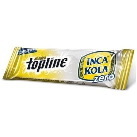Chewing-gums Topline goût Inca Kola Zero Arcor 7,2g