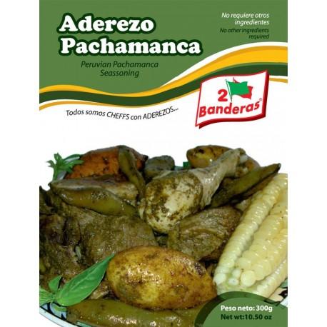 Assaisonnement liquide pour préparation de la Pachamanca à la casserole 2 Banderas / Plat du Pérou