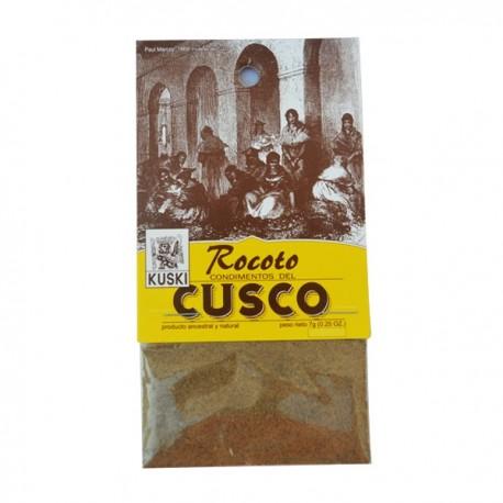 Piment péruvien Rocoto en Poudre (Rocoto en Polvo / Locoto) Kuski / Cuisine du Pérou
