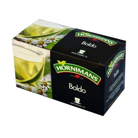 Boldo en infusettes Hornimans 25x1g
