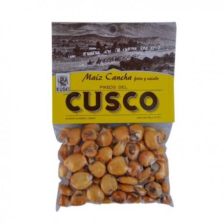 Maïs Cancha grillé et salé pour l'apéritif Kuski 80g