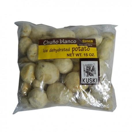 Chuño Blanc Entier péruvien (Chuño blanco / Tunta / Moraya) Kuski / Pérou