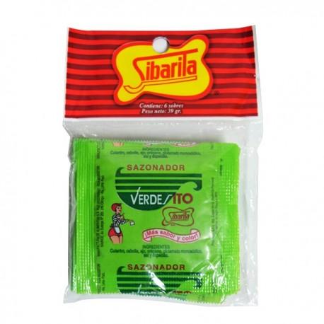 Verdesito en poudre Sibarita 6x6,5g
