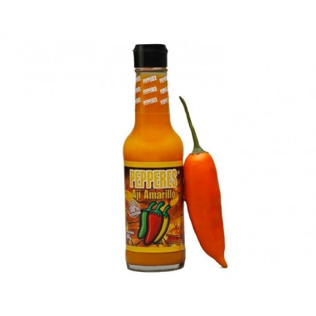 Sauce péruvienne picante liquide au Piment Jaune (Ají Amarillo) Pepperes / Assaisonnement / Pérou