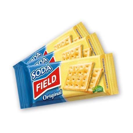 Biscuits Soda apéritifs péruviens natures salés Field 34g