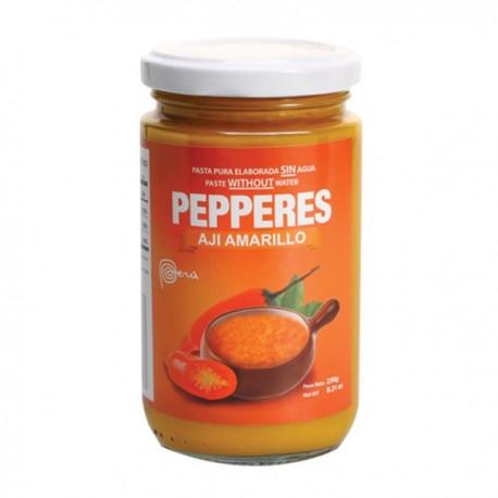 Piment jaune frais en Purée concentrée Pepperes 230g
