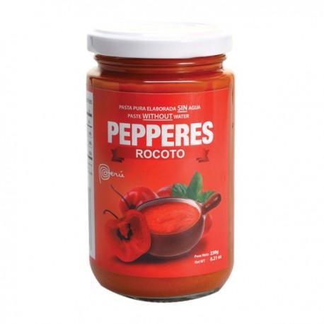 Piment Rocoto en Purée (Locoto) Pepperes / Cuisine péruvienne / Pérou