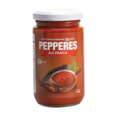 Piment Panca en Purée (Ají Panca) Pepperes / Cuisine péruvienne / Pérou