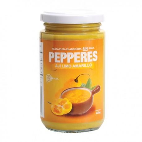 Piment Limo jaune frais en Purée (Ají Limo Amarillo) Pepperes / Cuisine péruvienne / Pérou